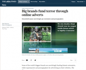 big brands fund terror digital ads
